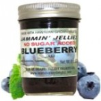 No Sugar Added Blueberry Jam