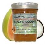No Sugar Added Papaya Coconut Jam